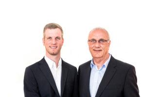 Jürgen und Erwin Schrecker von tri.balance base products