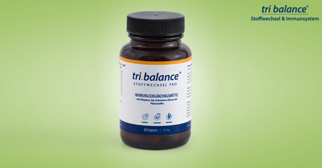 tri.balance Stoffwechsel pro beugt Verdauungsproblemen durch Übersäuerung vor