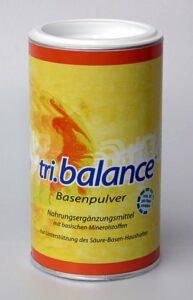 Das tri.balance Basenpulver im Jahr 2002