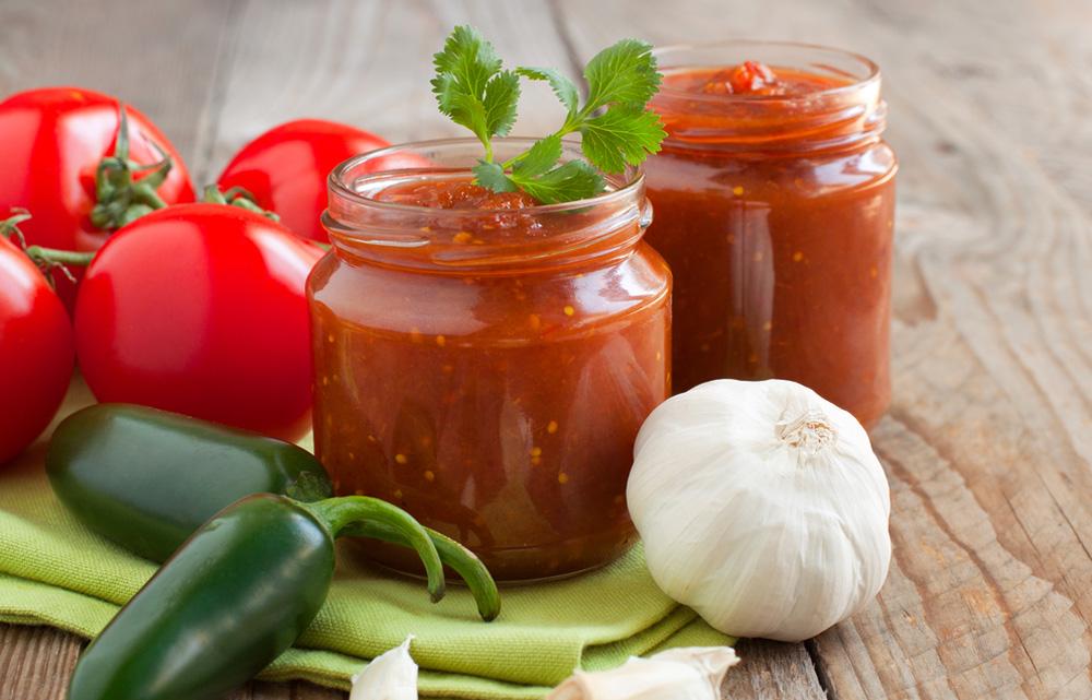 Basische Tomatensalsa