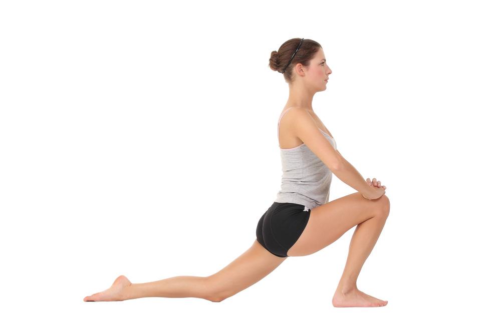 tri.balance Dehnuebungen fuer die Beine