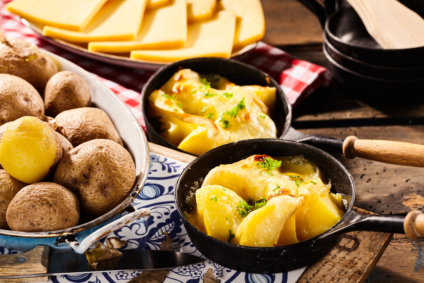 Basisches Silvester-Raclette