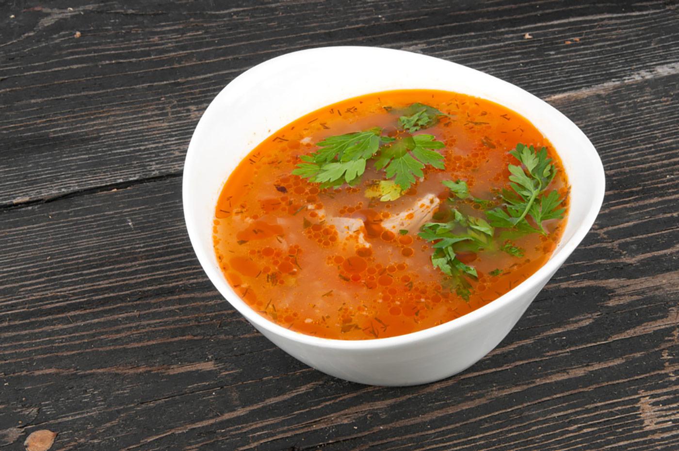 Erkältungskiller Hühnersuppe – die vegetarische Variante