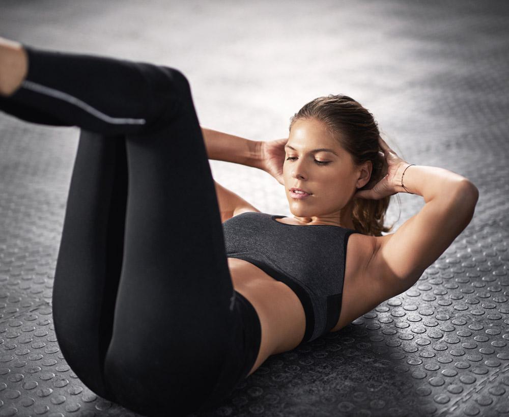 tri.balance, Bauchmuskelübungen, Crunch, Workout, Sixpack