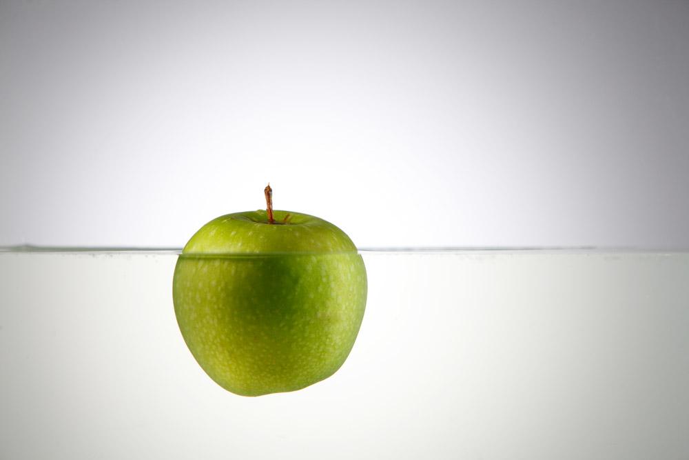 tri.balance, skurrile Fakten, Apfel, Luftkammern