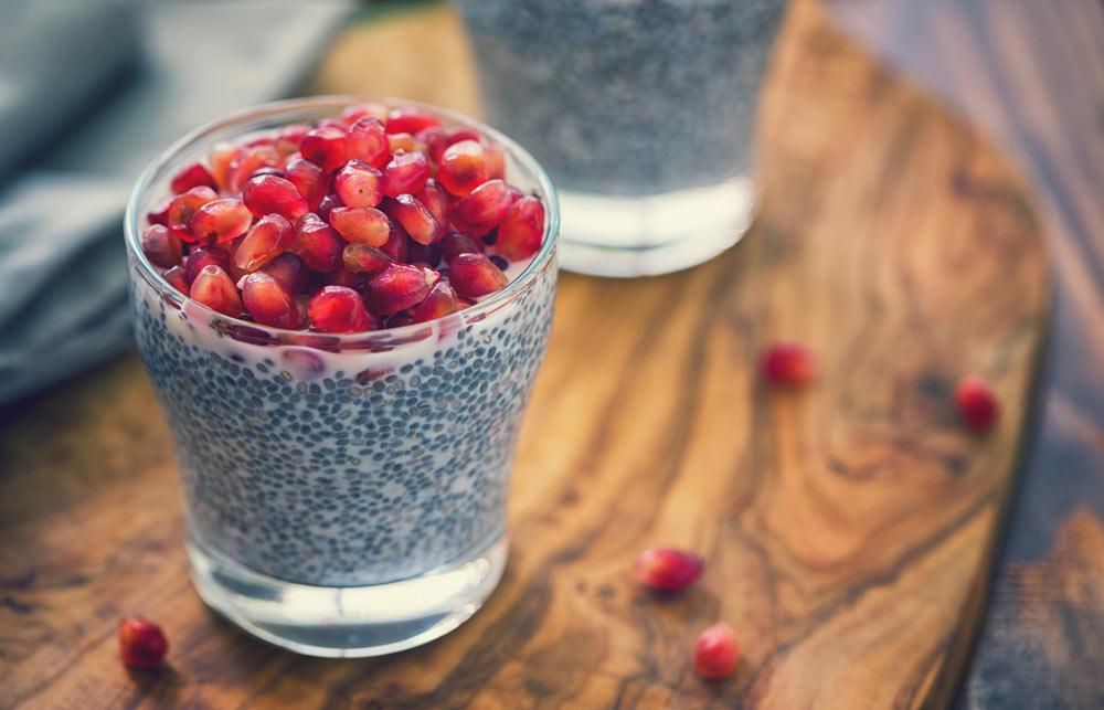 10 ballaststoffreiche Lebensmittel, basische Nahrungsmittel, Chiasamen basisch