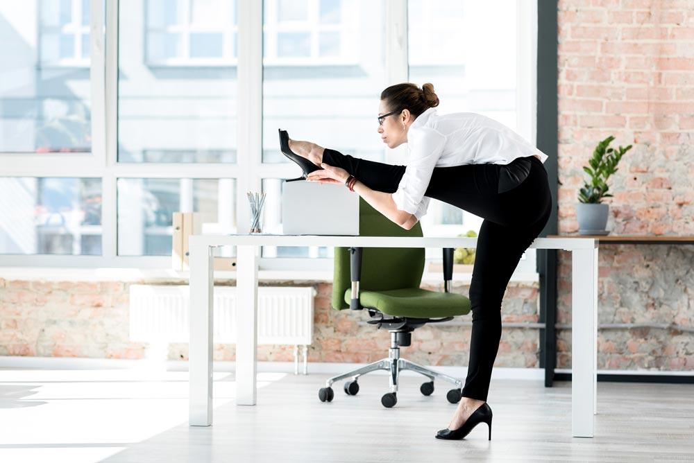 tri.balance Entspannungsübungen am Arbeitsplatz, Zen am Arbeitsplatz