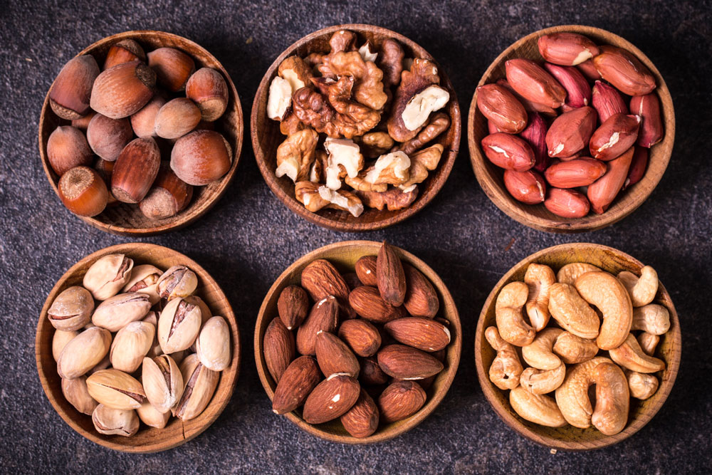 tri.balance Brainfood, basisch, Konzentrationssnack, Nüsse, Nüsse gesund, Nüsse basisch, Nervennahrung