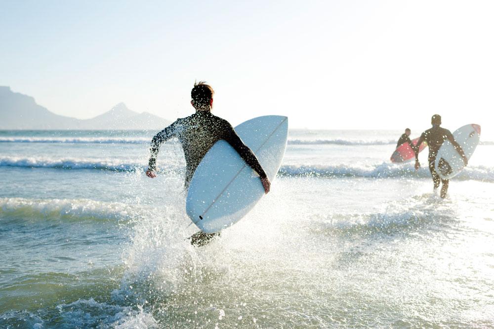 Sport im Urlaub: Strand-Übungen