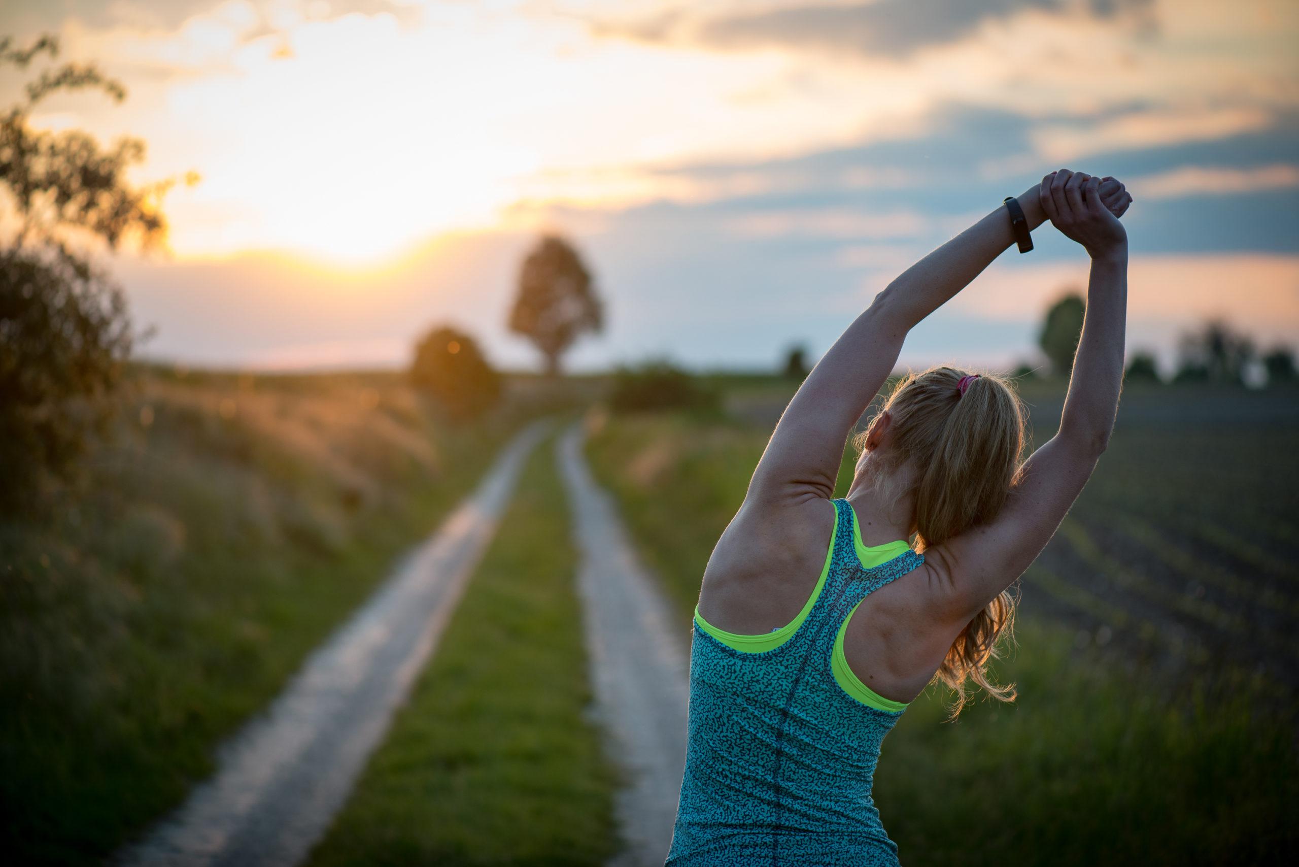 Mit Fitnessübungen gegen die Frühjahrsmüdigkeit